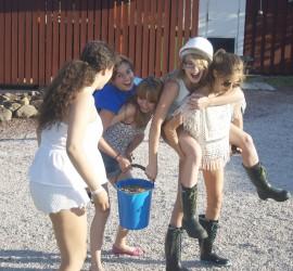 Lägertjejer sommaren 2013
